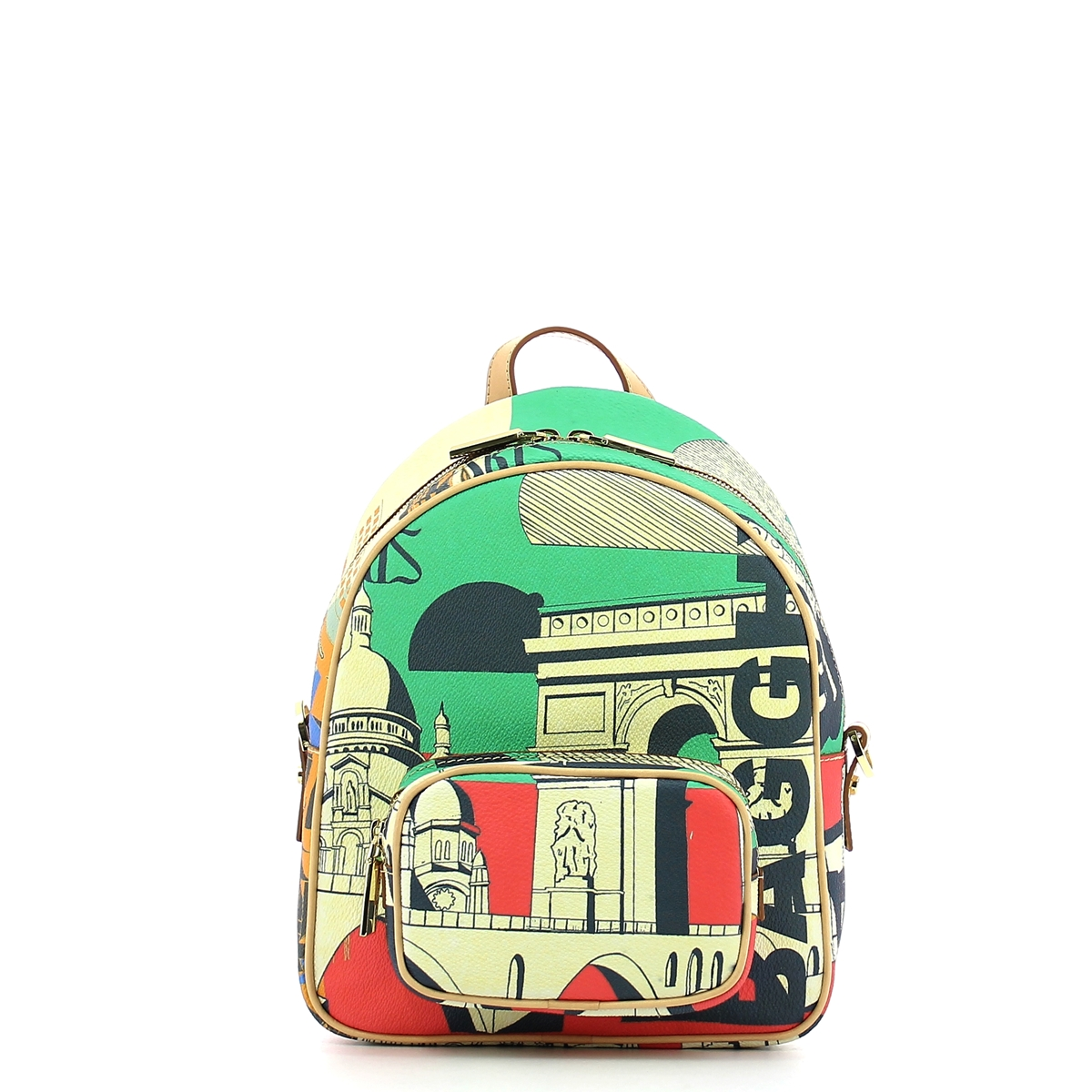 BACKPACK MED - SAFF STAMP POP