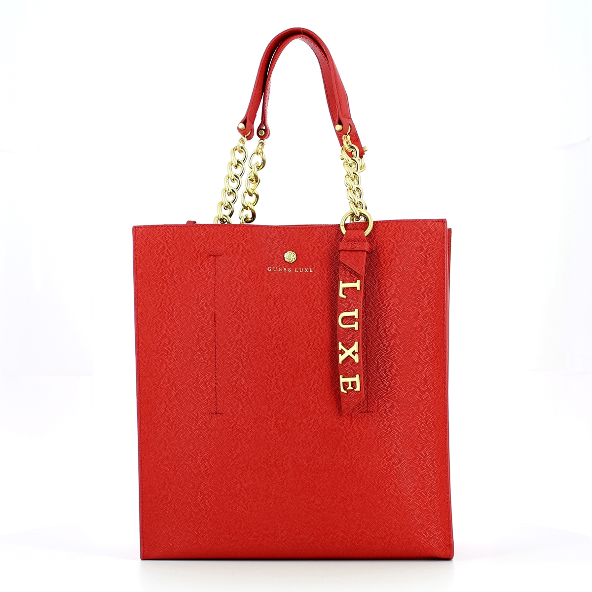 BE LUXE TOTE RED