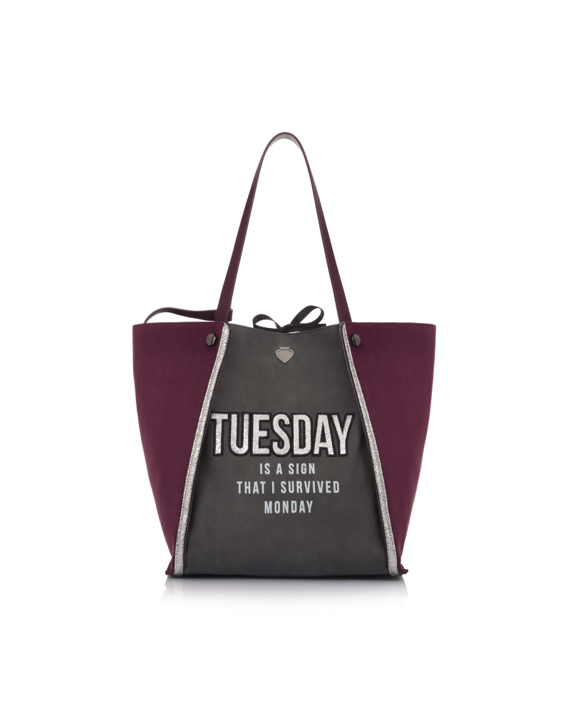 WEEK BAG TUESDAY DARK GREY
