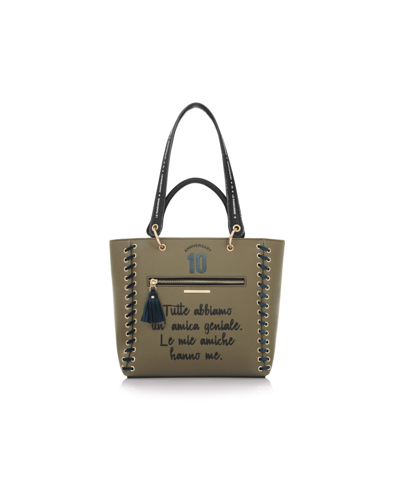 ANNIVERSARY BAG AMICHE ARMY GREEN