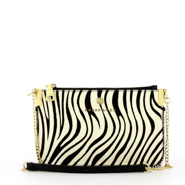 5a3542e421 Tracollina Glory in stampa Zebra Guess Luxe   Bagalier.com