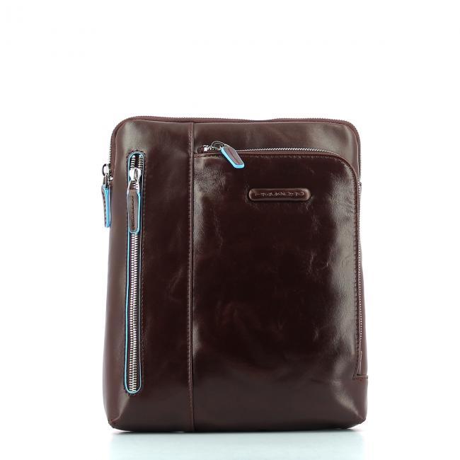 fa3255e966 Borsello Porta iPad Blue Square Piquadro   Bagalier.com
