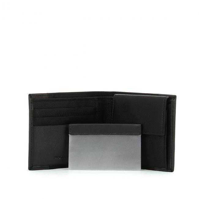 Portafoglio con porta spiccioli Pulse Piquadro  fe971cfa2e8