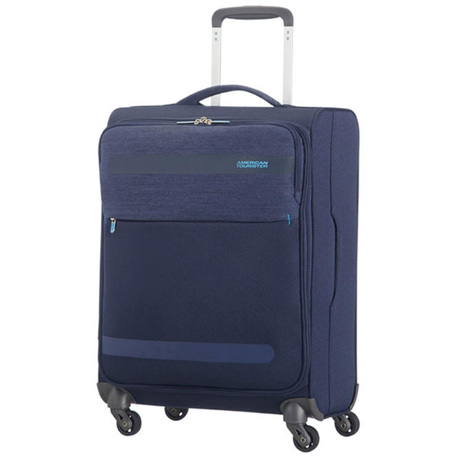 American Tourister Bagaglio a Mano Herolite Lifestyle Spinner 55 cm - NAVY