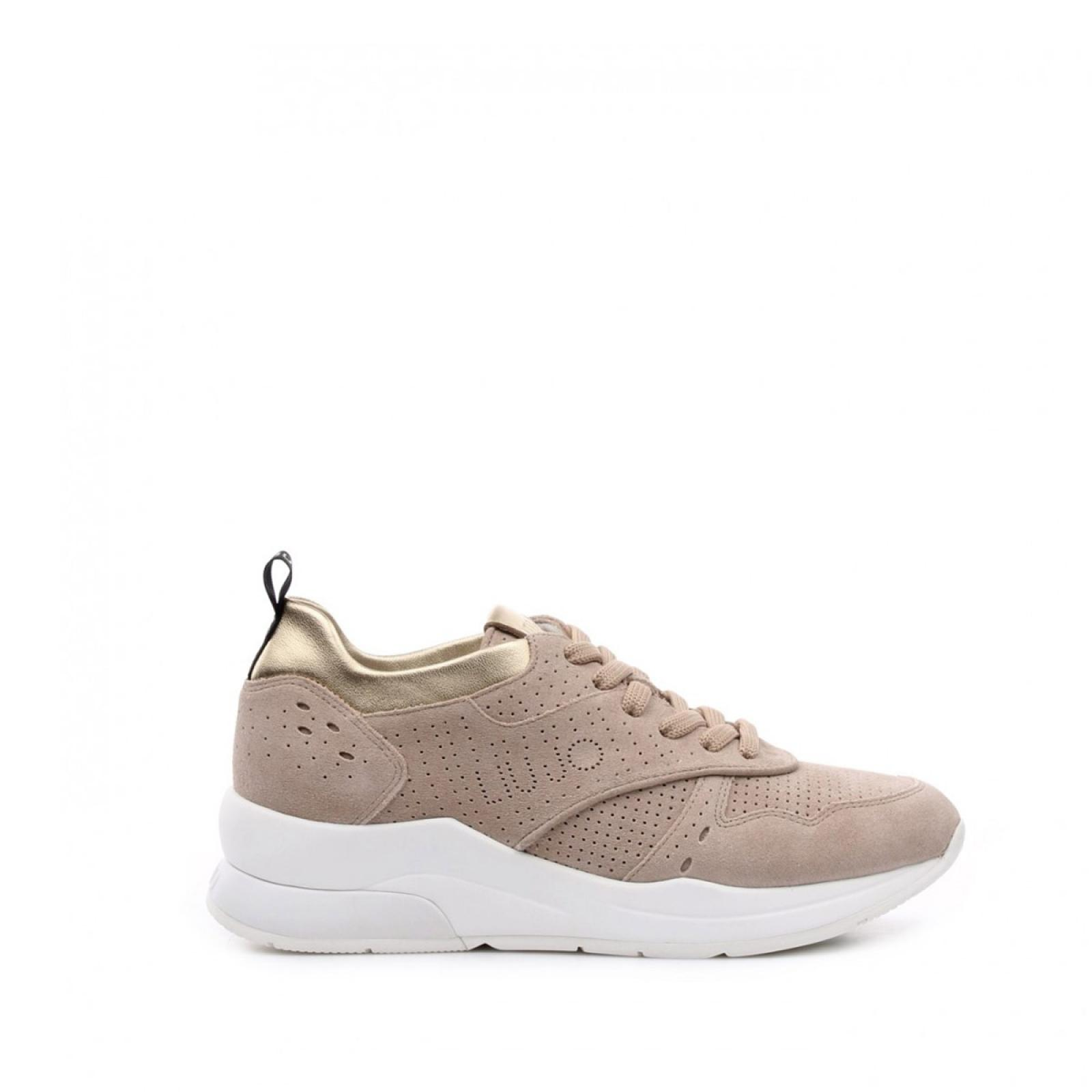 Sneakers Karlie in suede - SAND