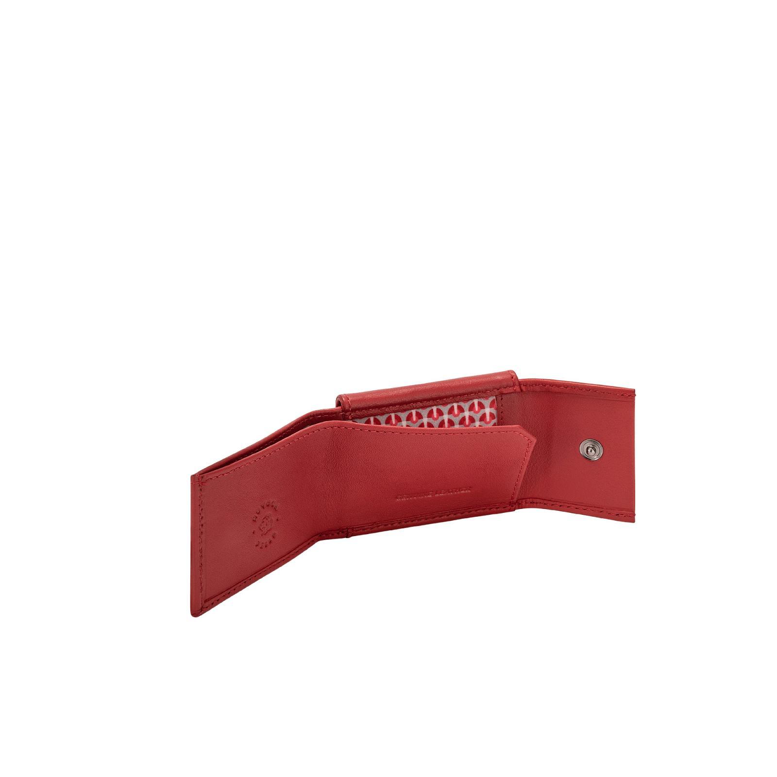 Portafogli  Uomo  Nappa - Buddy  - Rosso