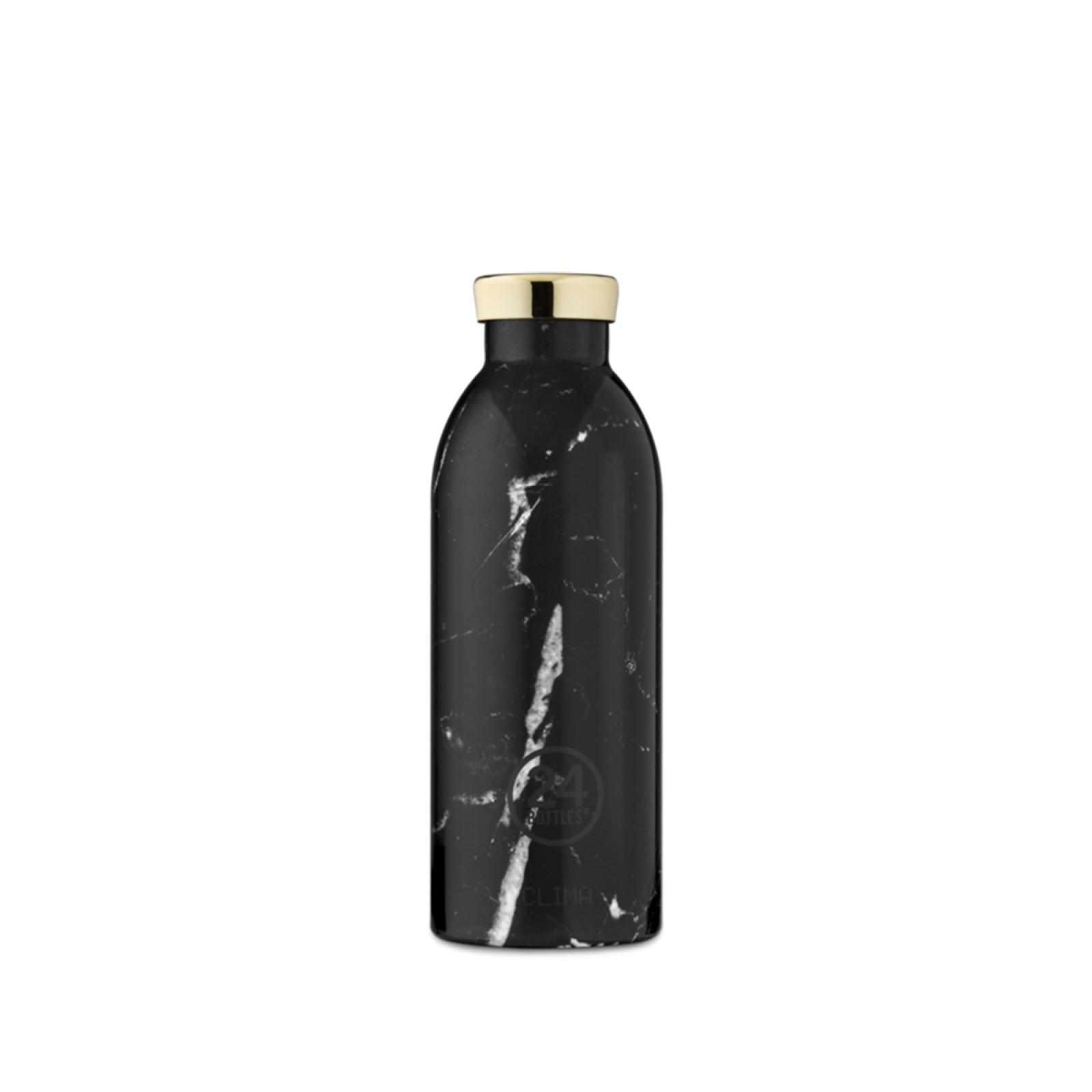 24BO Clima Bottle Marble Black 500 ml - 1