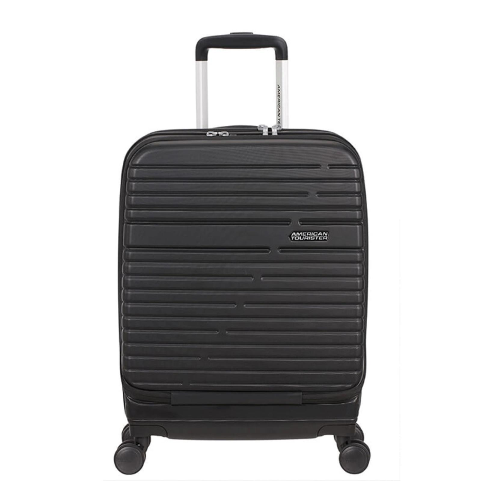 American Tourister Trolley 55/20 Spinner Aero Racer with 15.6 PC Holder - 1