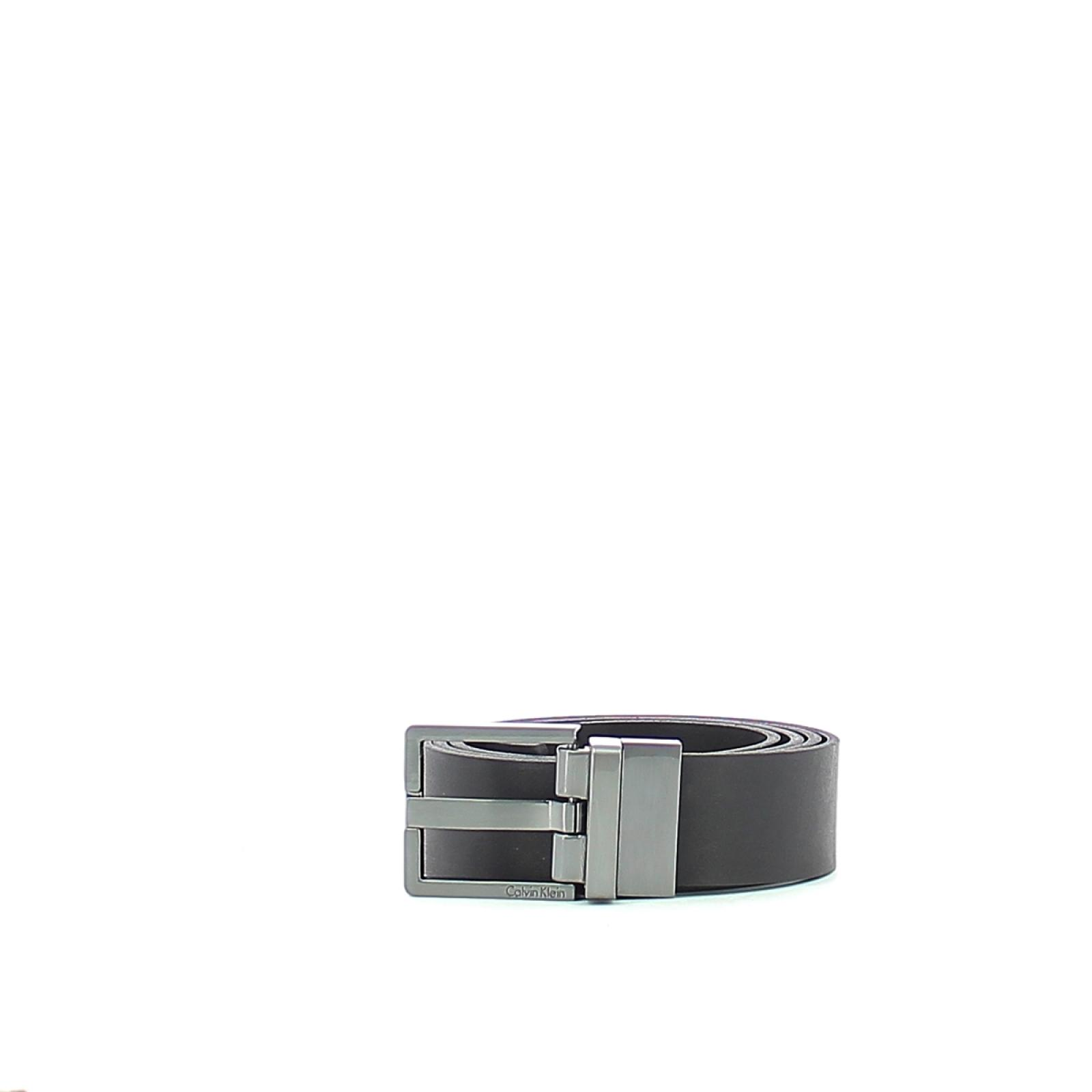 Leather Belt Casual Reversible-BLK/BRW-130