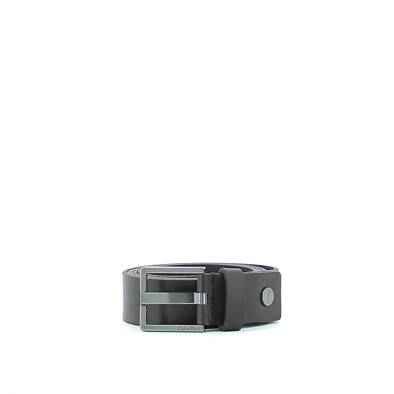 Leather Belt Casual-BLACK-130