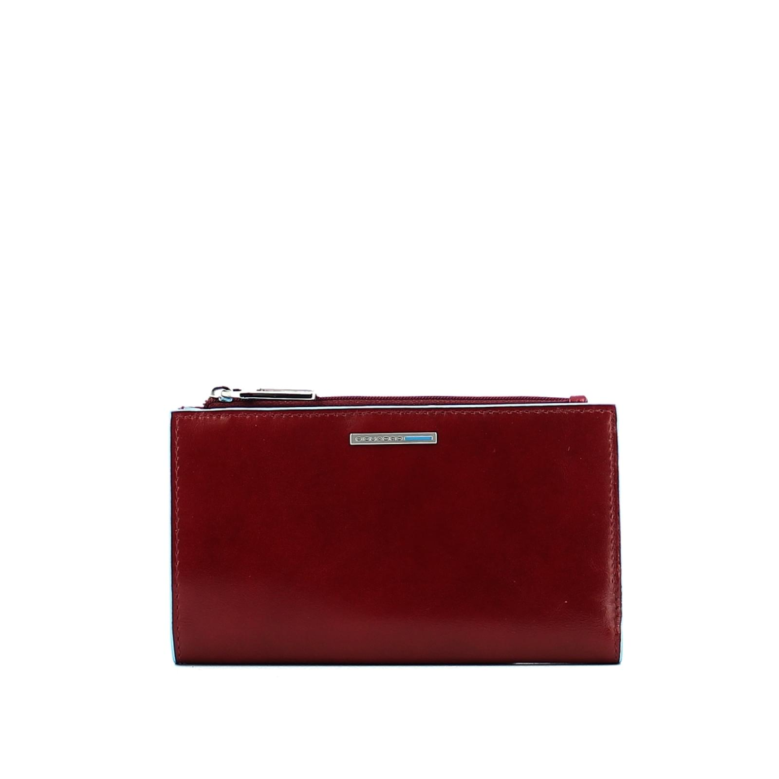 0ba574d086 Slim woman wallet Blue Square. 154090. Brand. Piquadro. Portafogli Donna ...