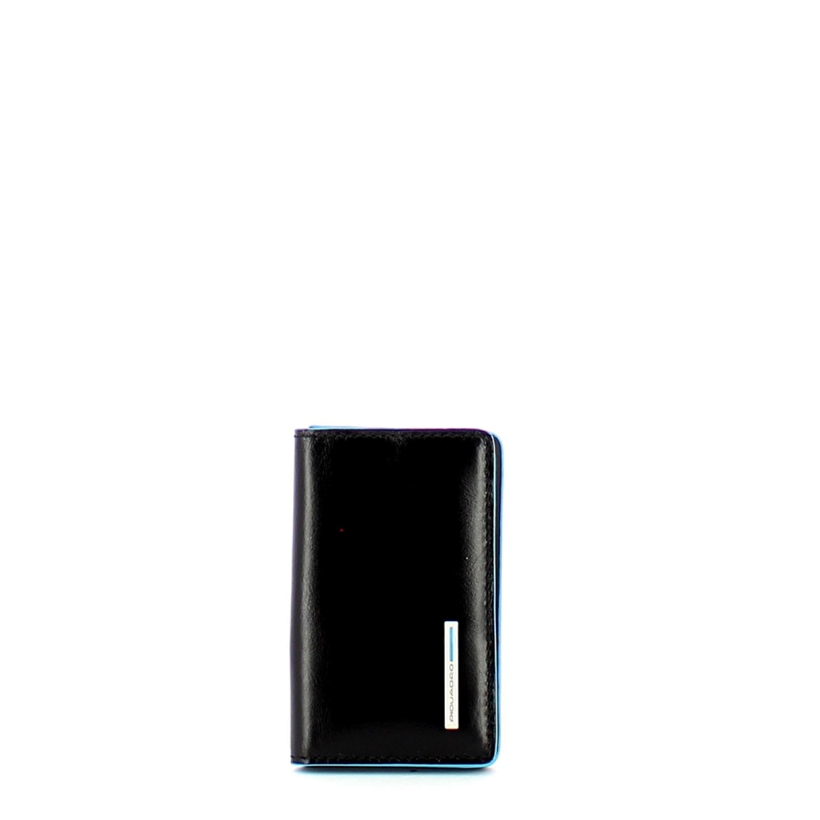 Piquadro Porta Biglietti Blue Square - 1
