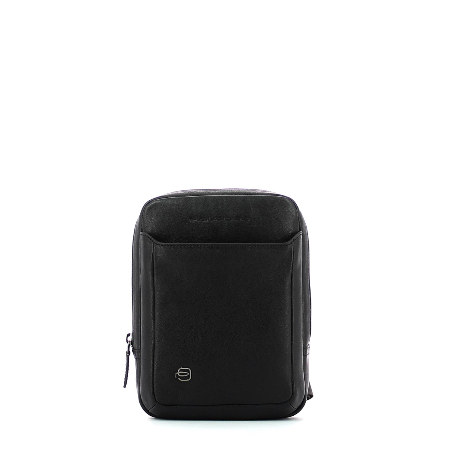 Organised Crossbody Black Square-NERO-UN