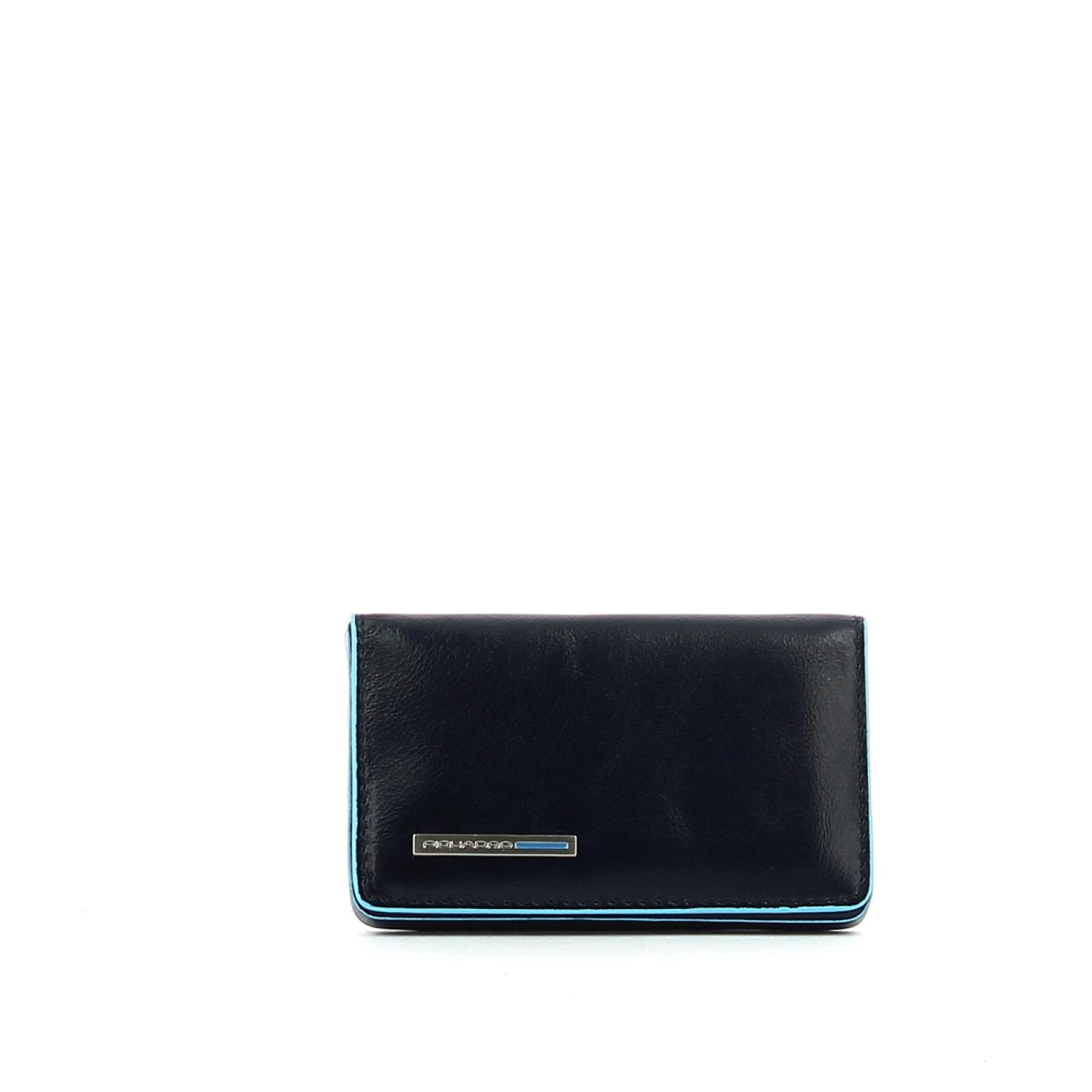 Business card holder Blue Square-BLU2-UN