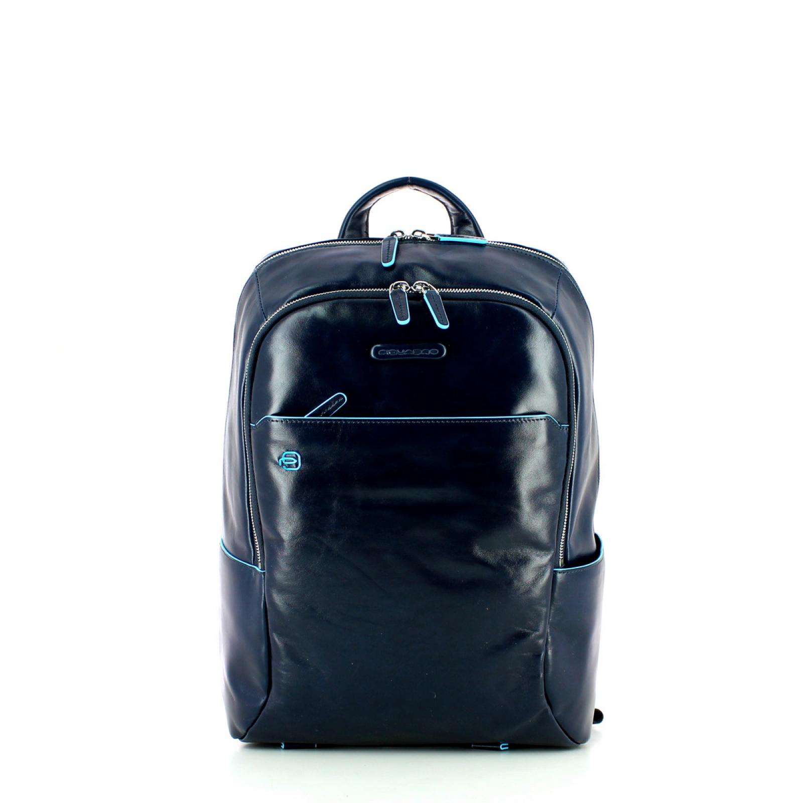 Laptop Backpack Blue Square-BL2-UN