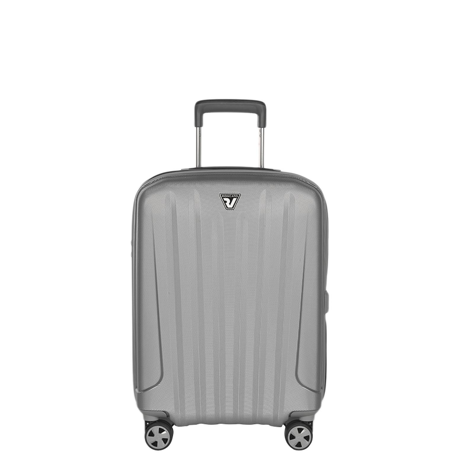 Cabin Case Unica Spinner 55 cm-SILVER-UN