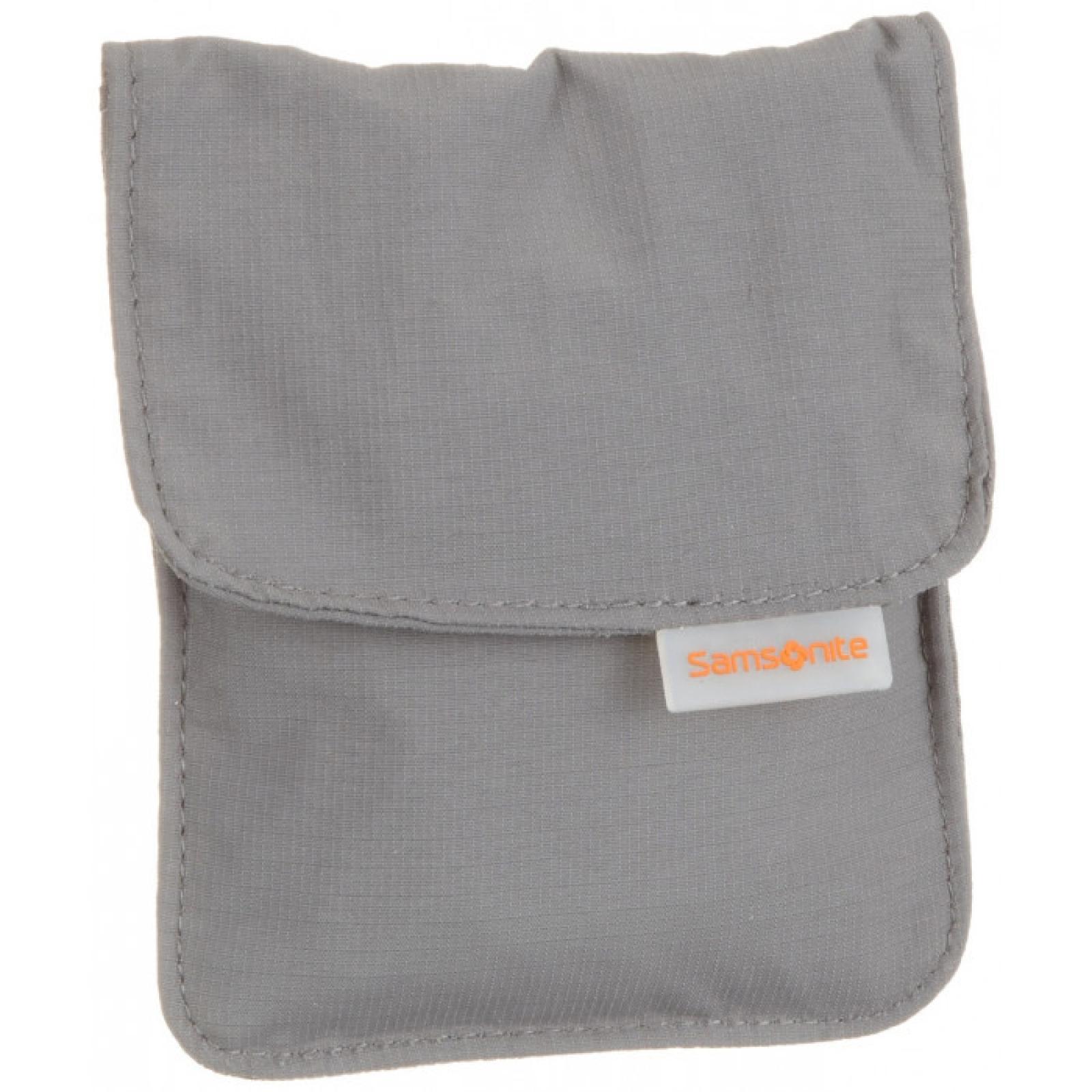 Triple Pocket Neck Pouch-GRAPHITE-UN