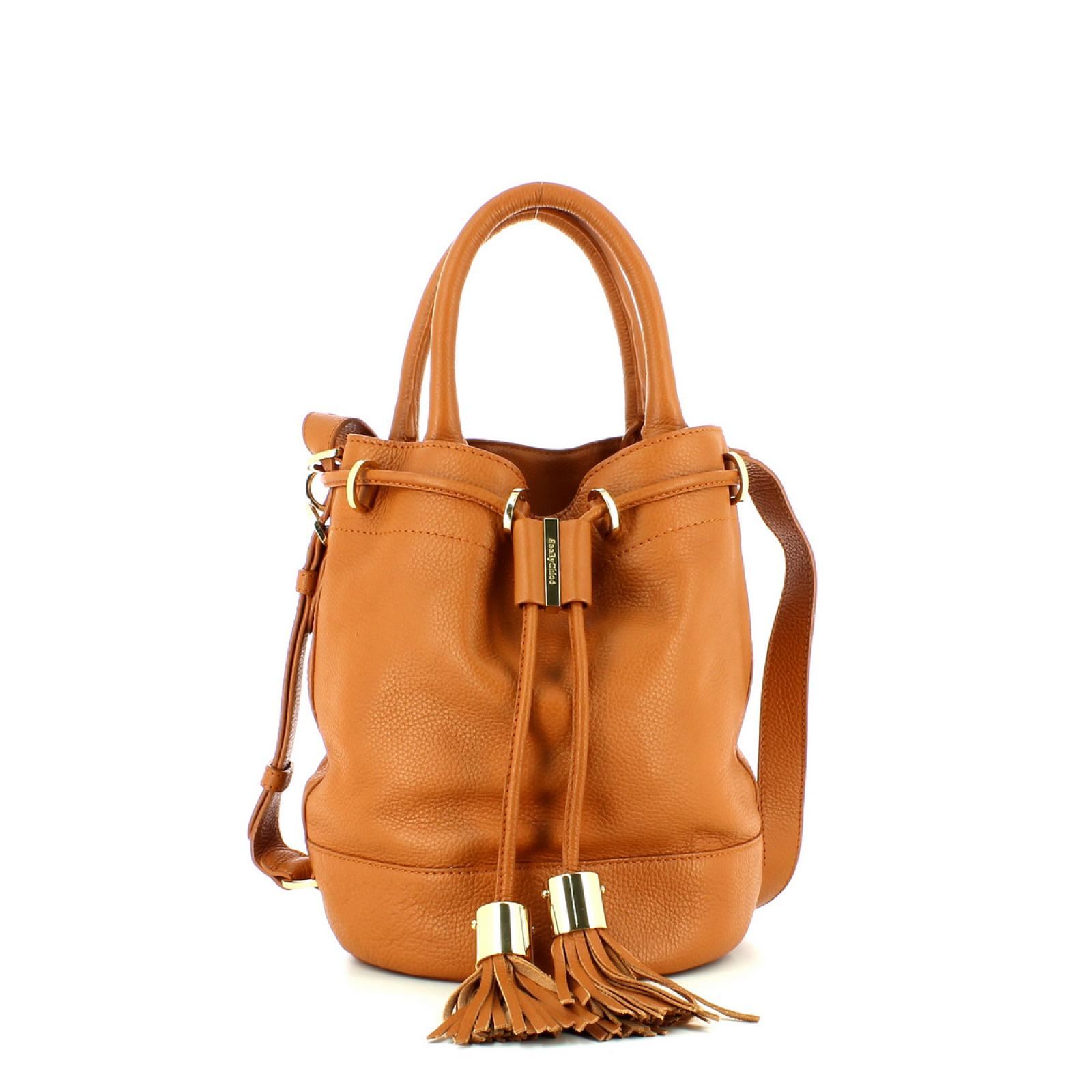 Bucket With Handcarry & Crossbody Strap Vicki-HAZEL-UN