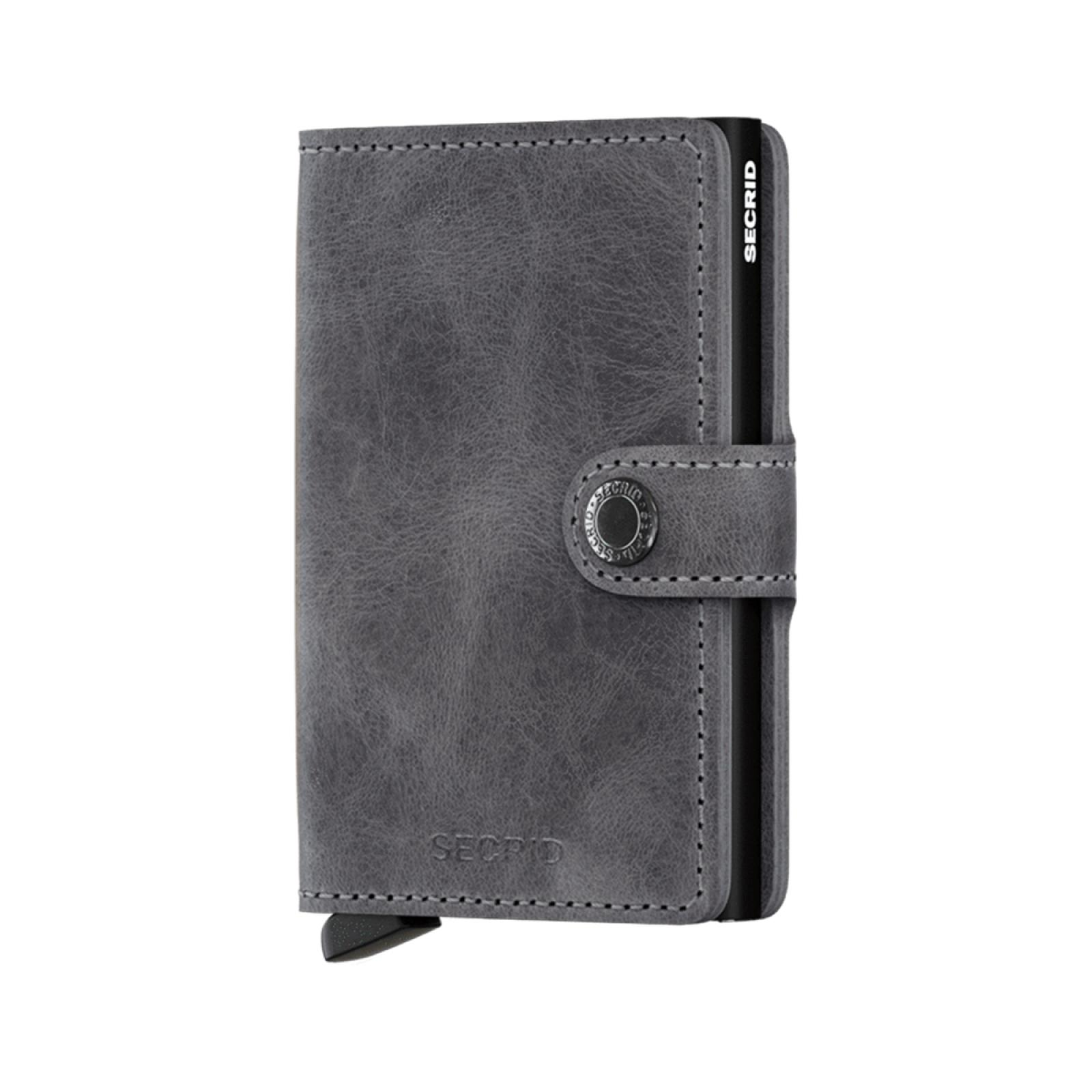 Secrid Miniwallet Vintage RFID Grey-Black - 1