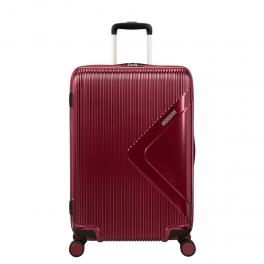 Trolley Medio 69/25 Exp Modern Dream Spinner - WINE/RED