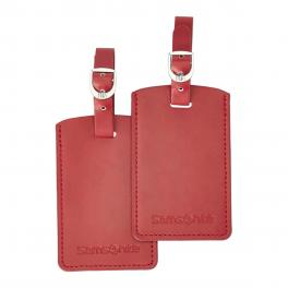 Rectangular Bag Tag-RED-UN