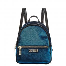 Guess Zainetto Ronnie effetto Velluto - TEAL