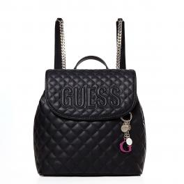 Guess Zaino Brielle Trapuntato - BLACK