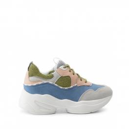 Sneakers Jog in suede Color Block - 1