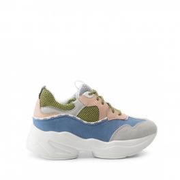 Sneakers Jog in suede Color Block - 1