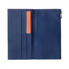 Portafogli  Uomo  Zip-it - Tom - Blu