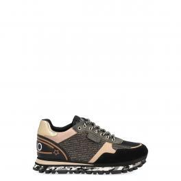 Sneakers Maxi Wonder in Suede con suola Comouflage - 1
