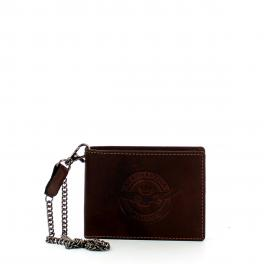 Aereonautica Militare Biker wallet with chain and coin pocket - 1