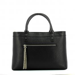 Handbag M Leather-NERO-UN