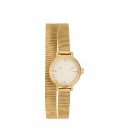 Vittoria Round Watch 21 mm-COLOR/GOLD-UN