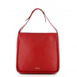 Furla Hobo Bag M Ester Chili Oil - 1