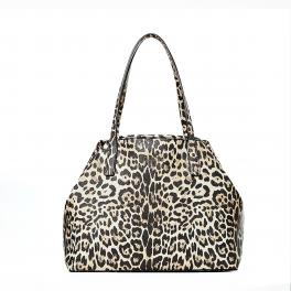 Guess Shopper Vikky Animalier con pochette - 1