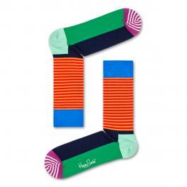 HAPP Calzini Half Stripe Sock - 1