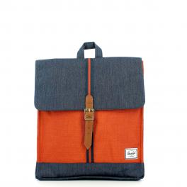 Herschel City Backpack Mid-Volume Indigo Denim - 1
