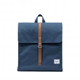 Herschel Supply City Backpack Mid-Volume Navy Tan - 1