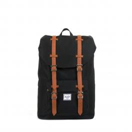 Herschel Supply Little America Mid Backpack 13.0 Black Tan - 1