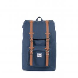 Herschel Supply Zaino Little America Mid 13.0 Navy Tan - 1