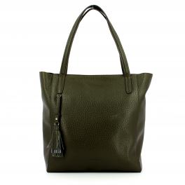 IUNT Leather Shopper Autentica - 1