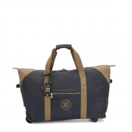 Kipling Borsone Art on Wheels M colour - 1