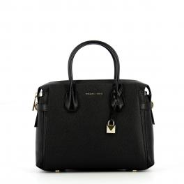 Michael Kors Medium Satchel Mercer in pebbled leather - 1