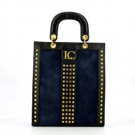 La Carrie Bag Josephine Long Shopper in suede - 1