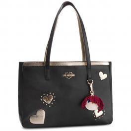 Love Moschino Shopper Hearts - 1