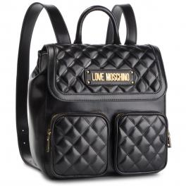 Love Moschino Quilted backpack - 1