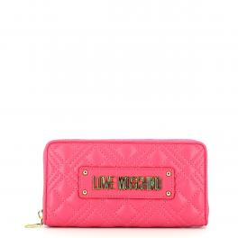 Love Moschino Portafoglio Quilted Nappa Zip Around - 1