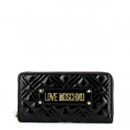 Love Moschino Portafoglio Quilted Zip Around - 1