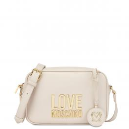 Love Moschino Camera Bag Gold Metal Logo - 1